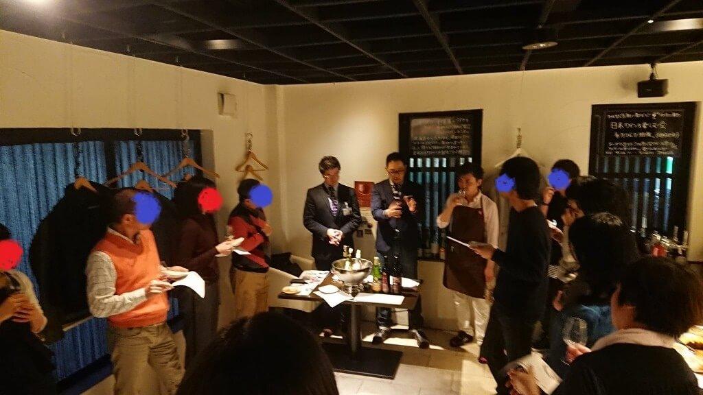 北九州での三次ワインと都農ワインのコラボイベントにて