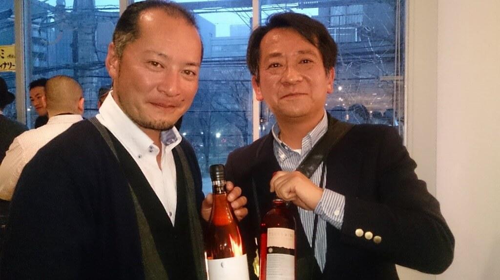 赤尾醸造長と古賀